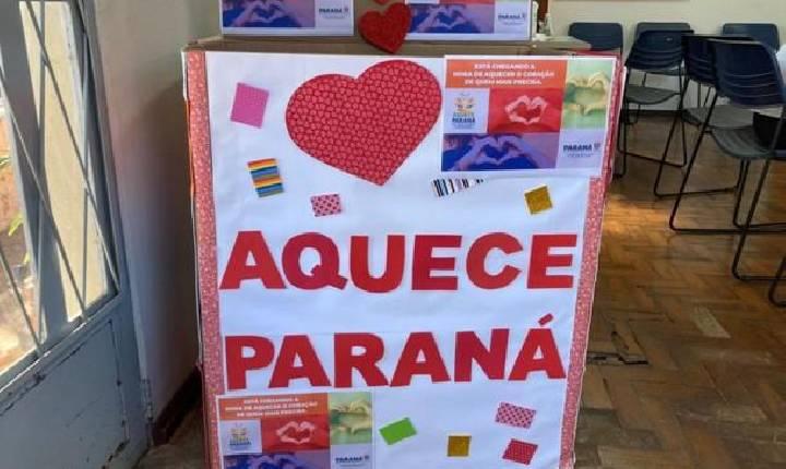 Agência do Trabalhador de SH pede apoio da população na campanha Aquece Paraná