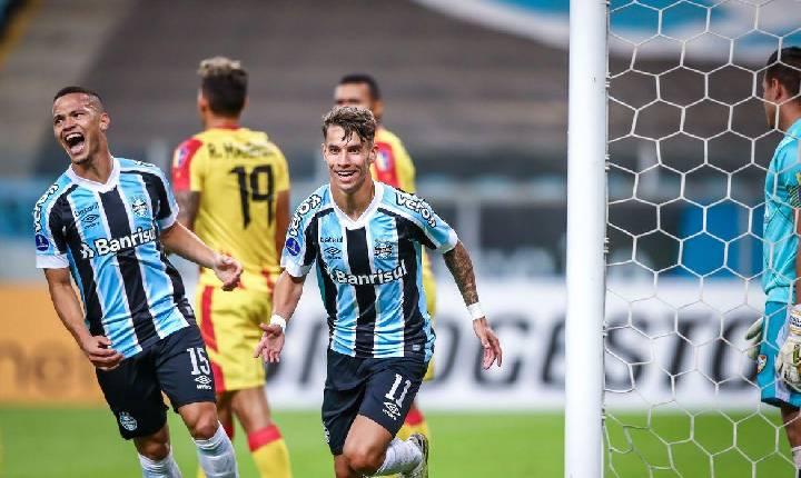Grêmio goleia por 8 a 0 pela Copa Sul-Americana