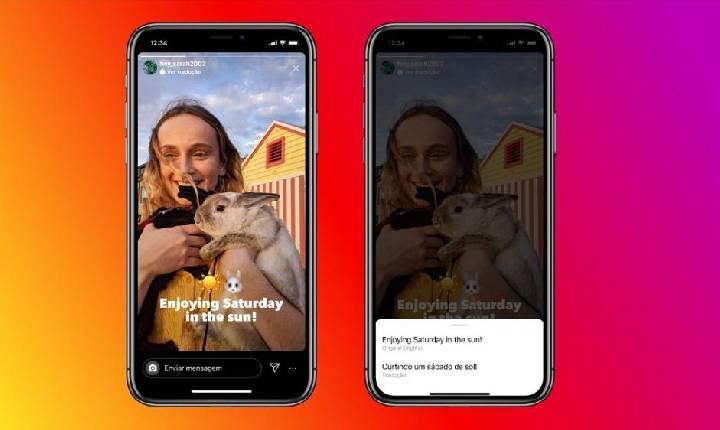 Instagram anuncia tradução de textos nos Stories para até 90 idiomas