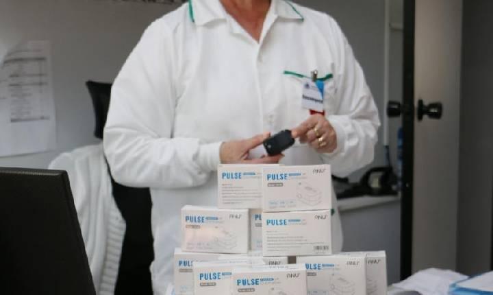 Município de Santa Helena recebe doações de oxímetros