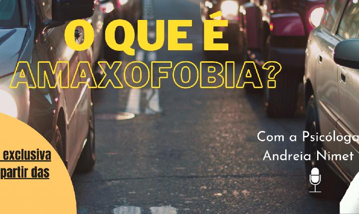 O que é Amaxofobia? (Medo de Dirigir) com: Andreia Nimet