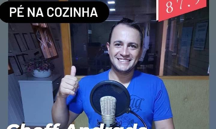 Pé na Cozinha - Com cheff Andrade - Rosquinha de cachaça - 09/09/2021