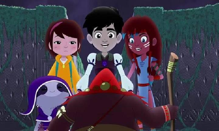 """Primeira animação nacional no Disney+, """"O Pergaminho Vermelho"""" brinca com jornada do herói pela ótica brasileira"""