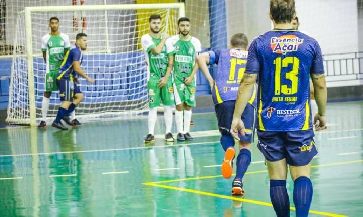 Santa Helena Futsal goleia o Foz Futsal na estreia da Série Bronze 2021